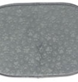Kay Dee Designs Pet Dish Mat Gray