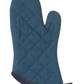 Now Designs Oven Mitt, Denim Stone Wash