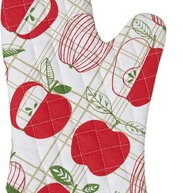 Now Designs Oven Mitt, Apple Check