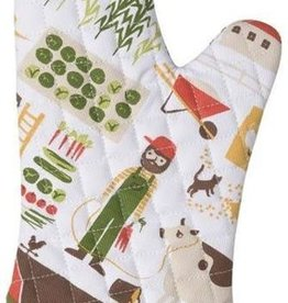 Now Designs Oven Mitt, Farmer Joe