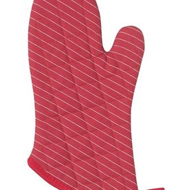 Now Designs Oven Mitt, Pinstripe Chili