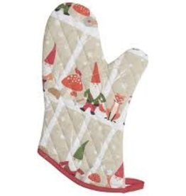 Now Designs Oven Mitt, Gnomes