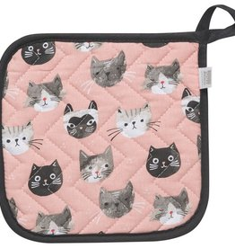 Now Designs Potholder, Cats Meow