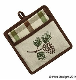 Park Designs/Split P Walk in the Woods Pocket Potholder Set