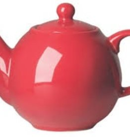 London Pottery 8 Cup Globe Teapot, Red