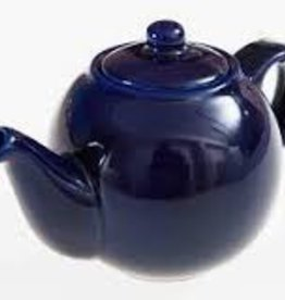London Pottery 8 Cup Globe Teapot, Cobalt Blue