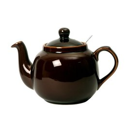 London Pottery 4 Cup Farmhouse Teapot, Rockingham