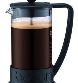 Bodum Brazil French Press coffee maker, 3 cup, 0.35 l, 12 oz Black