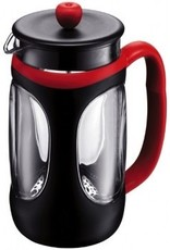 Bodum Young Press Coffee maker, 1.0 l, 34 oz, red & black