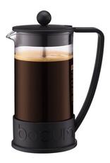 Bodum Brazil French Press coffee maker, 8 cup, 1.0 l, 34 oz, Black