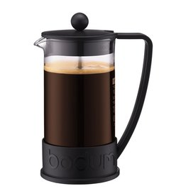 Bodum Brazil French Press coffee maker, 8 cup, 1.0 l, 34 oz, Black
