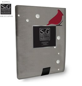 Sebastien & Groome S&G Tablecloth Cardinal Forest 60x126
