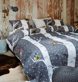 Intermark Birdy Flannel Duvet Cover Set - Twin