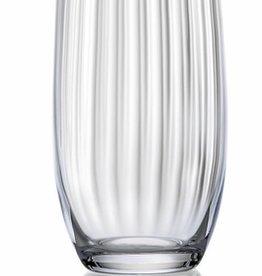 David Shaw Tableware Waterfall Optic High Ball Glasses S/6