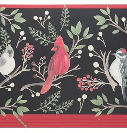 Now Designs S/4 Cork-Backed Placemats, Winter Birds