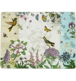 Pimpernel Placemats Botanical Hummingbird Set/4