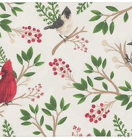 Now Designs Placemat, Winter Birds Print