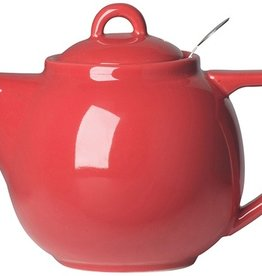 London Pottery 2 Cup Geo Teapot, Red