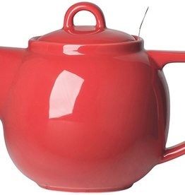 London Pottery 4 Cup Geo Teapot, Red