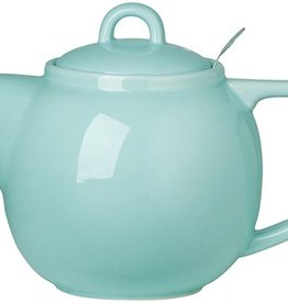 London Pottery 4 Cup Geo Teapot, Aqua