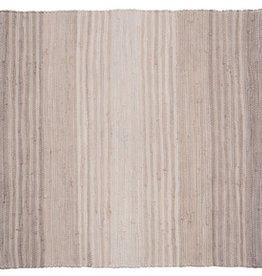 Stitch & Shuttle Gray Chindi Stripe Rug, 3'x5'