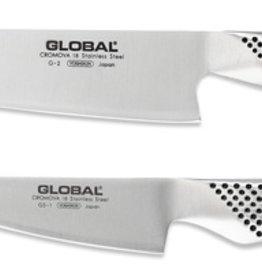 Global Knife Set 2Pc (G2-Cook, GS1-Kitchen)
