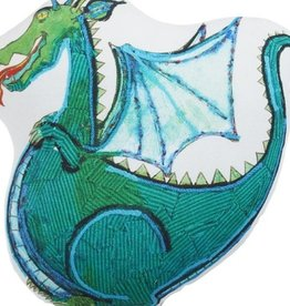 "Brunelli (HB Promotion Inc) Dragon Cushion 17""x17"""