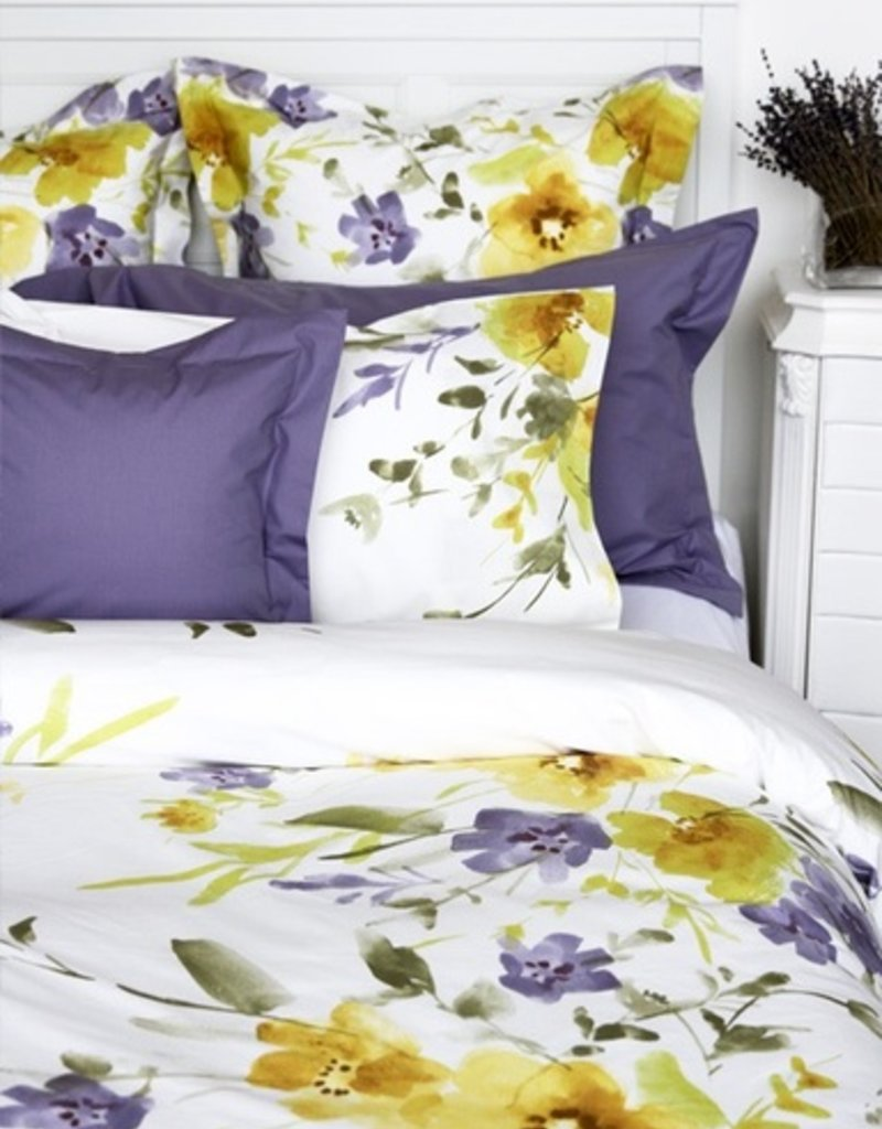 Cuddle-Down Bethany Twin Duvet Cover Set With 2 Shams