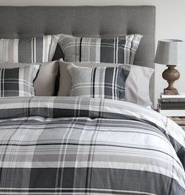 Cuddle-Down Flannel Morten King Duvet Cover Set With 2 Shams