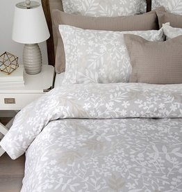 Cuddle-Down Forest Grey Queen Duvet Cover Set With 2 Shams