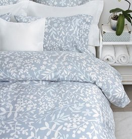 Cuddle-Down Forest Blue Queen Duvet Cover Set With 2 Shams