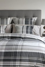Cuddle-Down Flannel Morten Pillow Sham King