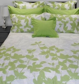 Cuddle-Down Green Leaves Duvet Cover Double