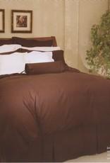 Cuddle-Down Bark Chocolate Sheet Set Double