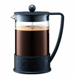 Bodum Brazil French Press Coffee maker, 12 cup, 1.5 l, 51 oz, Black