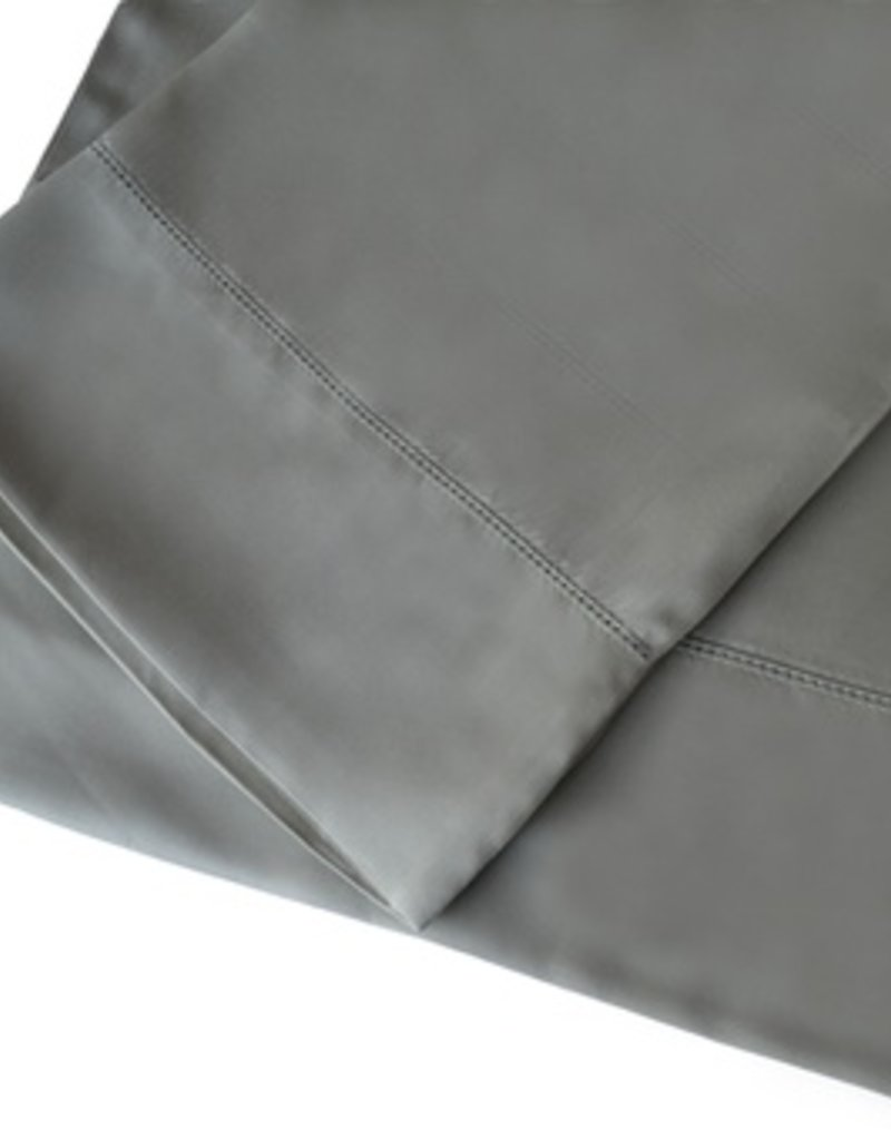 The St.Pierre Home Fashion Collection Bamboo Queen Sheet Set Charcoal Grey