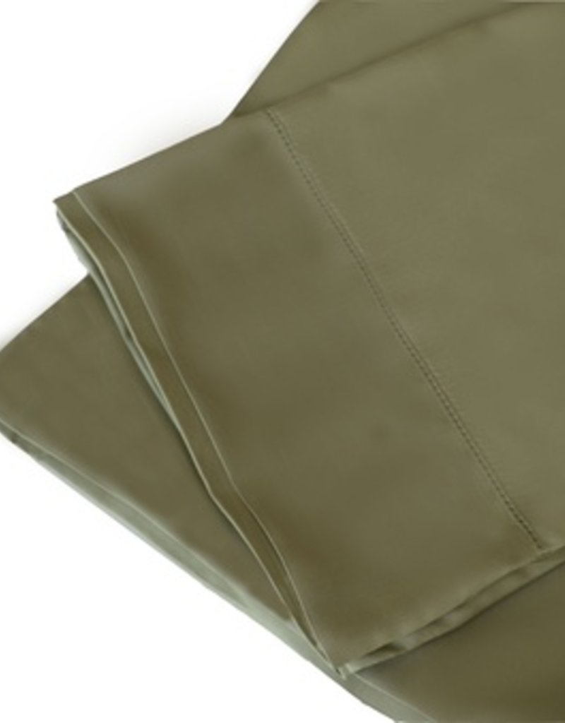 The St.Pierre Home Fashion Collection Bamboo King Sheet Set Sage Green