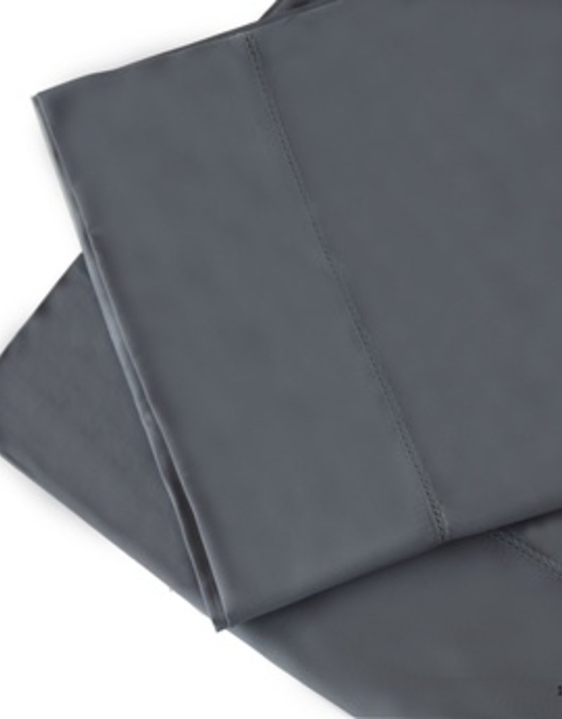 The St.Pierre Home Fashion Collection Bamboo Queen Sheet Set Ceramic Blue