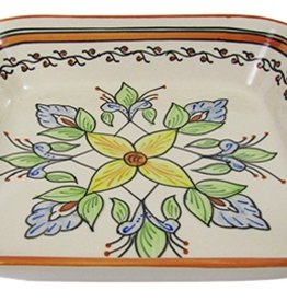 "Le Souk Ceramique Square Serving Bowl, 11"", Salvena"