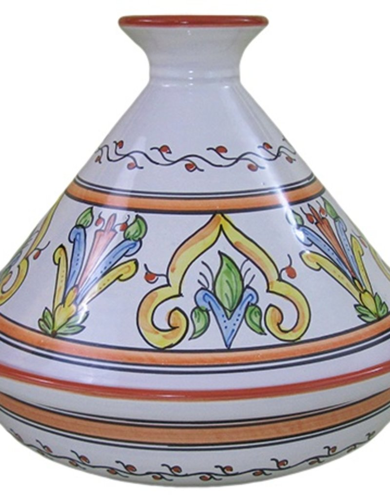 "Le Souk Ceramique Cookable Tagine, 12"", Salvena"