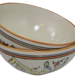 "Le Souk Ceramique Medium Deep Serve Bowl, 8"", Salvena"