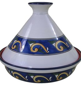 "Le Souk Ceramique Cookable Tagine, 12"", Riya"