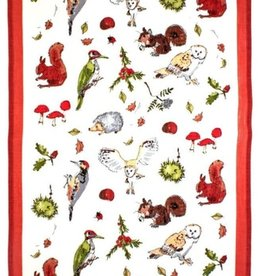 Ulster Weavers Tea Towel - Woodland, Linen