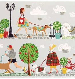 Ulster Weavers S/4 Cork-Backed Mini Placemats, Walkies