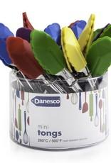 Danesco Mini Tongs, Asst Colours