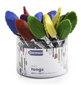 Danesco Mini Tongs, Asst Colours
