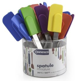 Danesco Mini Spatula, Asst Colours