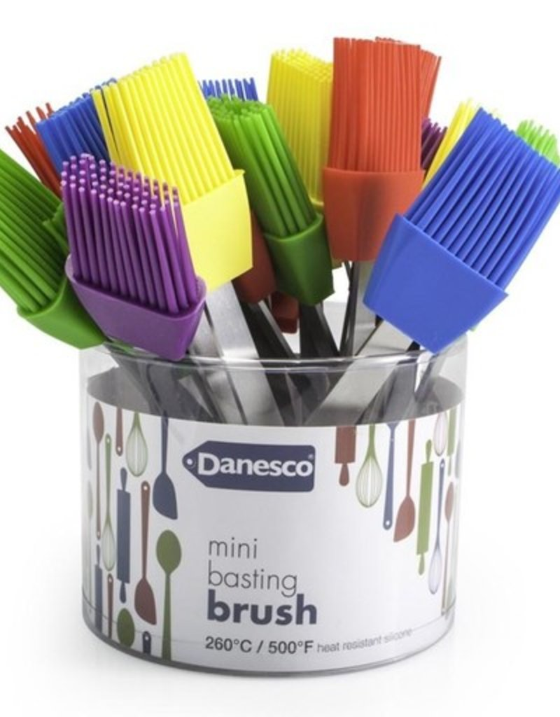 Danesco Mini Basting Brush, Asst Colours