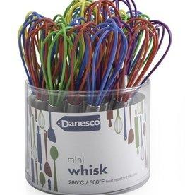 Danesco Mini Whisk, Asst'd Colours