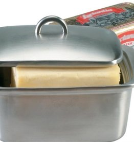 Danesco Double Walled Butter Box, Stainless Steel
